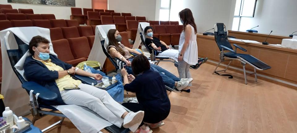 Με επιτυχία η εθελοντική αιμοδοσία στο Δήμο Ζηρού