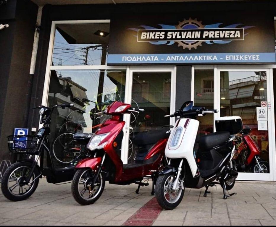 Bikes Sylvain Shop : Από το 1996, εμπειρία 25 χρόνια γύρω από το ποδήλατο στην Πρέβεζα!