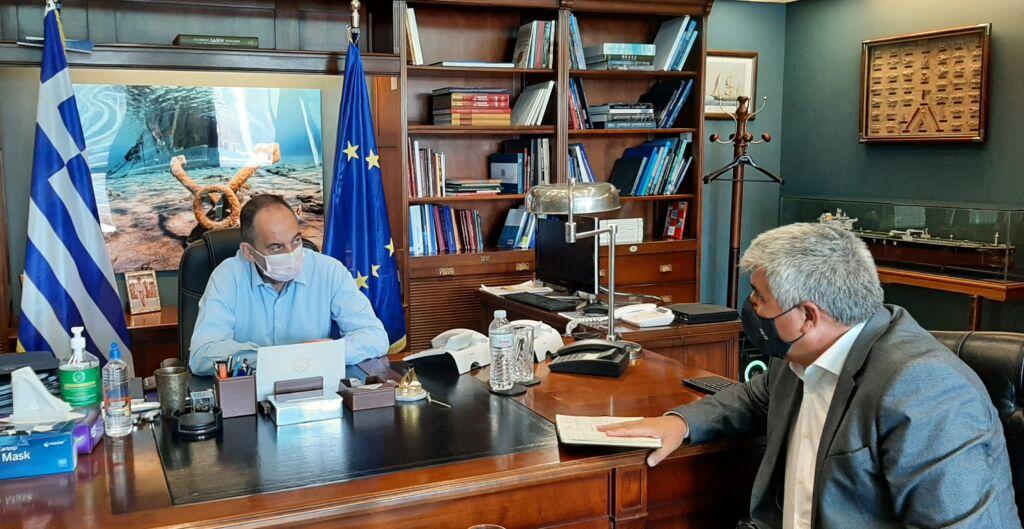 Με τον Γιάννη Πλακιωτάκη συναντήθηκε ο Δήμαρχος Πρέβεζας Νίκος Γεωργάκος