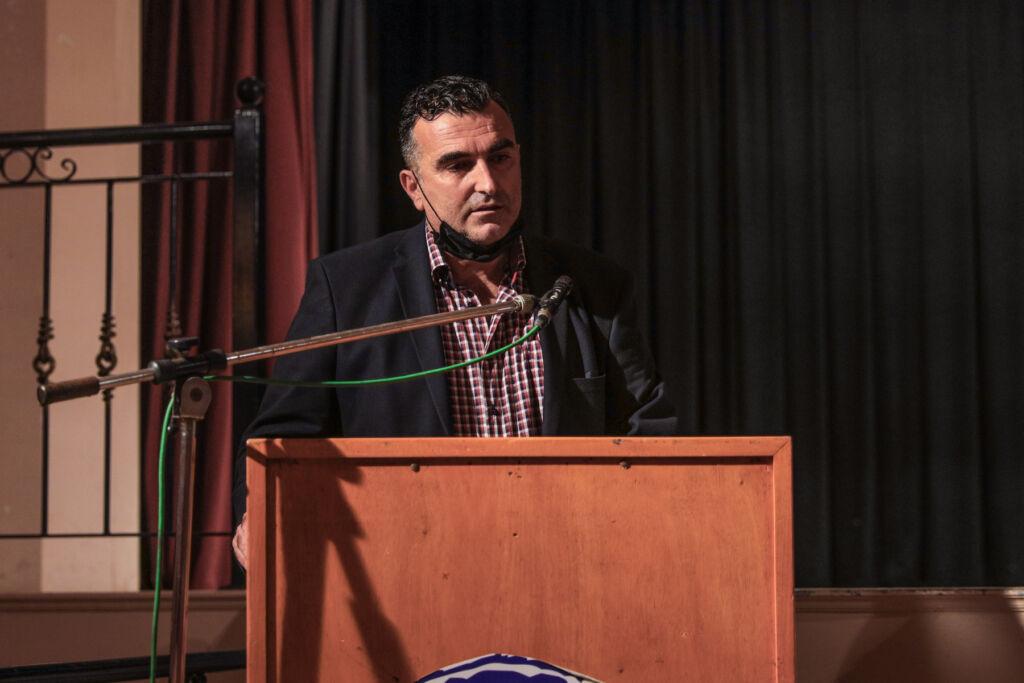 Παρέμβαση στην πολιτική εκδήλωση του ΣΥΡΙΖΑ-ΠΣ Πρέβεζας πραγματοποίησε ο Γιώργος Νίτσας