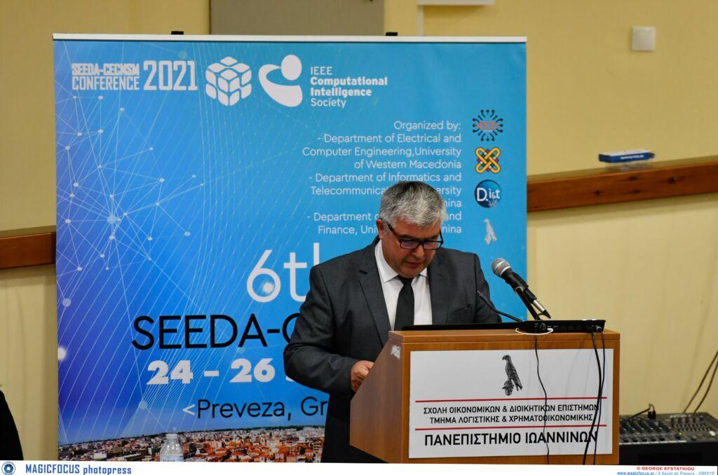 Πρέβεζα : Ο Xαιρετισμός Δημάρχου στο «6ο Διεθνές Συνέδριο Σχεδιασμού Αυτοματισμού, Μηχανικής Υπολογιστών, Δικτύων Υπολογιστών και Μέσων Κοινωνικής Δικτύωσης – Νοτιοανατολικής Ευρώπης»